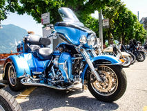 Third edition of Swiss Harley days Royalty Free Stock Images
