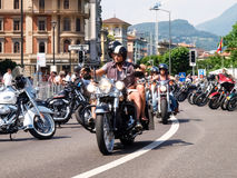 Third edition of Swiss Harley days Stock Photos