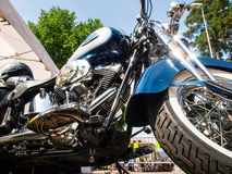 Third edition of Swiss Harley days Stock Image