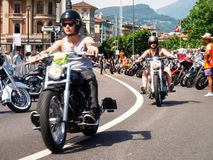 Third edition of Swiss Harley days Stock Photography