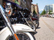 Third edition of Swiss Harley days Royalty Free Stock Photos