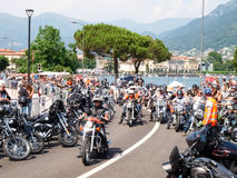 Third edition of Swiss Harley days Stock Photo