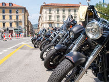 Third edition of Swiss Harley days Royalty Free Stock Photography