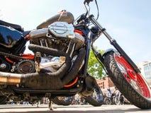 Third edition of Swiss Harley days Stock Image