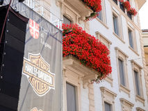 Third edition of Swiss Harley days Royalty Free Stock Image