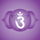 Third eye chakra Royalty Free Stock Images