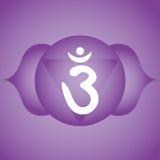 Third eye chakra Royalty Free Stock Images