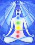 Third Eye Indigo Chakra Stock Photography
