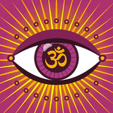 Third eye ohm Stock Image