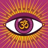 Third eye ohm Stock Image