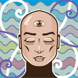 Third Eye vector Illustration Stock Photography
