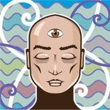 Third Eye vector Illustration Stock Photography