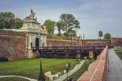 Third Gate, White Carolina Citadel, Alba Iulia Royalty Free Stock Images