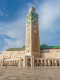 Third largest Mosque Hassan II in Casablanca Morocco Royalty Free Stock Images