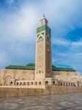 Third largest Mosque Hassan II in Casablanca Morocco Stock Photos