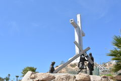 Third Millenium Cross in Coquimbo, Chile Royalty Free Stock Image