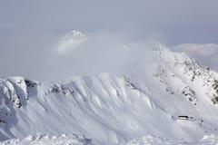 Third peak Aigbi in the Caucasus Mountains Royalty Free Stock Photos