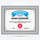 Third place award sign icon. Prize for winner Royalty Free Stock Images
