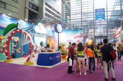 Third Shenzhen international brand licensing and derivatives Exhibition Stock Image