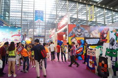 Third Shenzhen international brand licensing and derivatives Exhibition Stock Images