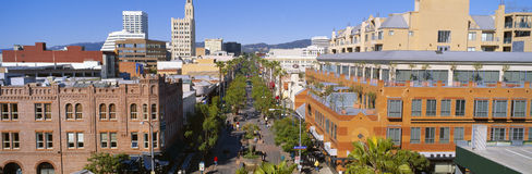Third Street Promenade Royalty Free Stock Images