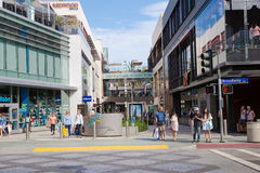 Third Street Promenade in Santa Monica California Royalty Free Stock Photo