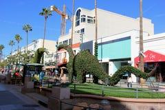 The Third Street Promenade of Santa Monica Stock Images