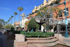 The Third Street Promenade of Santa Monica Royalty Free Stock Image