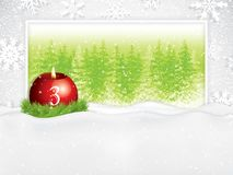 Third sunday in advent concept background stock illustration