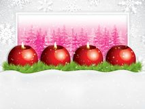 Third sunday in advent concept background royalty free illustration