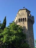 Third tower in San Marino Royalty Free Stock Photos