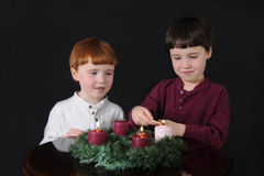 Third Week of Advent Stock Photos