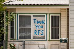 Residents thank Rural Fire Service for their hard work