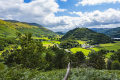 Thirlmere Landscape Royalty Free Stock Images