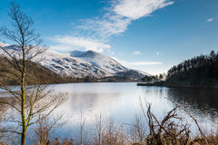 Thirlmere Reservoir and Helvellyn Stock Image