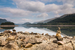 Thirlmere Reservoir reflections Royalty Free Stock Photo