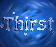 Thirst Stock Photography