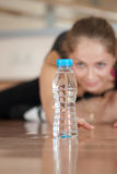 Thirst athlete Royalty Free Stock Images