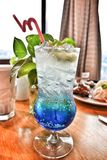 Thirst quencher. One step closer to summer. Real taste and uplifting refreshment. Great time at Sky Deli, Melaka Royalty Free Stock Image