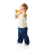 Thirsty Boy Royalty Free Stock Photo