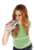 Thirsty girl Royalty Free Stock Photo