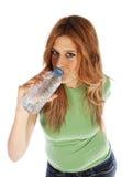 Thirsty girl Royalty Free Stock Photo