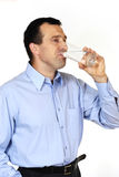 Thirsty man Royalty Free Stock Image