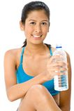 Thirsty Workout Royalty Free Stock Photos