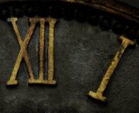 Thirteen. Roman numerals on a clock face making up thirteen Stock Photography