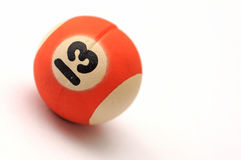 Thirteen ball Stock Photography