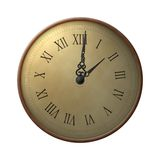 Thirteen hours clock. A vintage-looking clock with a dial showing thirteen hours instead of twelve royalty free illustration