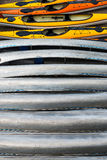 Thirteen Kayaks Stock Image