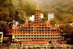 The thirteen storeys of Hindu Mythology Stock Image