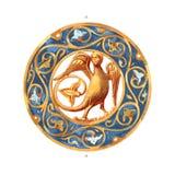 Thirteenth-Century Enamel Royalty Free Stock Image